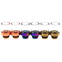 bearing housing fit - E Cigarette Pyrex Glass Muffler Wide Bore Drip Tips Fit E House CE4 CE5 EVOD Clearomizer Stainless Steel Rainbow E Cigarette Mouthpiece