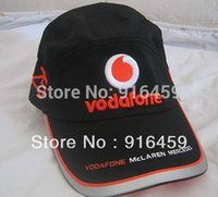 racing sports caps - Mclaren Mp4 F1 car racing white Team fans Embroidery Baseball Motorcycle vodafone sports Hat cap