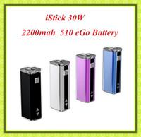 Wholesale Istick W Battery MOD MAH Variable Voltage V V VS Istick W VS Istick W Subox mini KBbox w