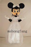 cartoon character - New wedding minnie mascot costume fancy dress Christmas party costumes Cartoon Character