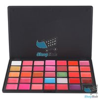 affordable makeup palettes - ShopHub Affordable Color Lips Gloss Lipsticks Makeup Cosmetics Palette Content