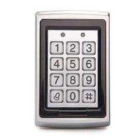 Wholesale Metal Waterproof Door Access Control Controller Proximity RFID Reader with Keypad