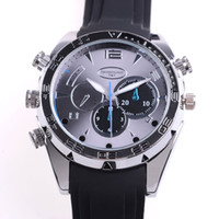 Wholesale 2015 New HD P IR Night Vision GB Waterproof Watch Camera SPY DVR Camcorders Cam VC487