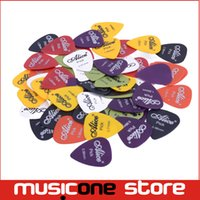 abs thickness - Guitar Picks Alice AP Q Matt ABS Plectrum with Plastic Box Standard Size Mix Thicknesses MU0291
