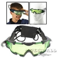 Wholesale Goggles Night Vision Goggles with Flip out Blue LED Lights Fashionable Top Quality Comfortable Comfortable to Wear Low Price