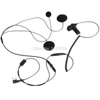 Wholesale Motorbike Motorcycle Helmet Stereo Speakers Earphone for MP3 MP4 GPS VC087 T15