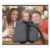 Wholesale Ipad tablet stand lazy bed bedside computer ipad5432airmini Universal Dual universal head bracket