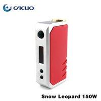 metal leopard - Original Snow LeoPard TX W Box Mods Electronic Cigarette TC VV VW W W Mods Mechanical Encom OLED Screen Vape Mods