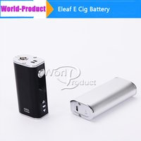 Wholesale 100 Authentic Eleaf Ismoka Istick W TC Box Mod Simple Pack Kit mah battery With OLED Screen VW Temperature Control Mod