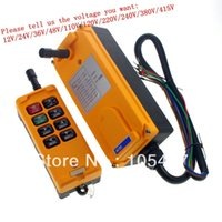 Wholesale 8 Channels Speed Control Hoist Crane Radio Remote Control System order lt no track