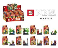 Wholesale New Villain Ninja SY272 Bricks Blocks toy boy puzzle assembled toys Children Assembled puzzle toy building blocks role
