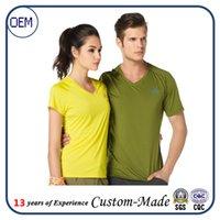 auto company logos - Custom logo V neck t shirts printed logo factory company has collar men and women t shirts with short sleeves print logo