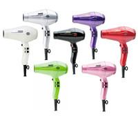 Wholesale 2017 Fashion Pro Professional Hair Dryer High Power W Ceramic Ionic Hair Blower Salon Styling Tools US EU AU Plug V V
