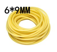 Wholesale Hot Sale M without joint x9mm Natural Latex Rubber Band Bungee Accessory for Outdoor Hunting Slingshot Catapult Elastic Parts