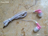 Wholesale 100PCS headphones headset mm gift earphones for phone mp3 mp4 tablet pc game EJ