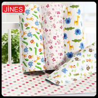 baby diaper changing mat - Cartoon waterproof cotton baby urine pad articles Infant Travel mattress Breathable x70cm changing diapers mat bed sheet