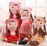 baby girl cushions - Baby Christmas Gifts Cute Roxy Angela Girl Modelling Kids Plush Dolls Children Plush Toys Doll Four Colors Size cm T1179