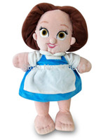 beauty and the beast doll - New Original Beauty and the Beast Baby Belle Princess Plush Dolls For Girls CM Kids Stuffed Toys Children Gifts