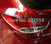 Wholesale For Hyundai Tucson IX35 High quality ABS Chrome Taillight trim rear lamp trim rear light cover