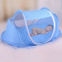 Wholesale New Infants Portable Baby Bed Crib Folding Mosquito Net Baby Crib Mosquito Net Children Crib Mosquito Netting Maio Infantil