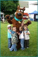 Wholesale Brown Scooby Doo Mascot Costume Suit Halloween Christmas Birthday Party Dress Costume Scooby Doo Cartoon costumes