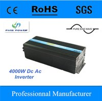 Wholesale off grid Pure Sine Wave Solar Inverter W KW DC12v v v to AC v v v