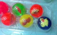 Wholesale Hi Bouncing fantastic balls animal inside