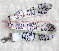 apples panda - New Panda Phone Lanyard Key ID Neck Strap Cell Phone Straps Charms