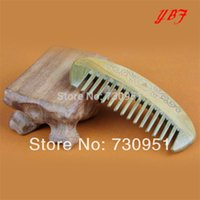 aging hair products - hair care products health care massage Green sandalwood Combs angel wings crafts for gift