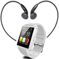 Wholesale 2016 Hot sale Bluetooth Smart Watch U8 Unisex smartwatch for apple iphone Xiaomi Huawei for Samsung S5 S6 Android Smartphones