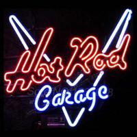 Wholesale Hot Rod Garage Neon Bar Sign Avize Neon Nikke Air Jorrdan Neon Signs Glass Tube Custom LOGO christmas lights Handicraft