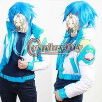 aoba seragaki - Custom Made DMMD Dramatical Murder Seragaki Aoba Cosplay Costume Jackets Belt T shirt Gloves Shoe Cover