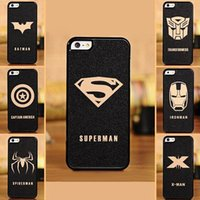 iphone 5 accessories - The Avengers Cell Phone Accessories Cases Covers with c bat man spider man superman series For iphone s s G quot s4 s5