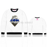 name brand apparel - New Pink dolphin hoodies fleece outerwear hoody brand name Men s clothing Sweatshirts hiphop Apparel sweater cotton