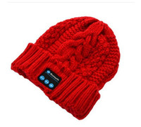 beach temperature - 2015 NEW Winter Intelligent Music Knit Wool Cap Hat with a Temperature Bluetooth Headset Cap Music Bluetooth Hat