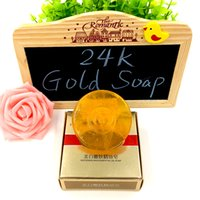 active cleanser - g k Active Gold Soap Skin Whitening Soap Cleanser Face Care Deep Cleansing Remove Blackhead Aging Anti Wrinkle g pc