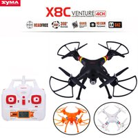 Wholesale US STOCK SYMA X8C Axis Ghz Gyro RC Quadcopter Drone UAV RTF UFO With MP Wide Angle HD Camera RC Quadcopter Remote Control Helicopte