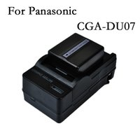 Wholesale CGA CGR DU06 DU07 rechargeable Battery Camera batteries Charger for Panasonic NV GS158 NV GS180 NV GS188 NV GS328 NV GS330