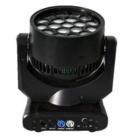 bee flight - 2PCS Moka MK M20 W Stage RGBW in1 Led Big Bee Eyes Moving Head Light With Flight Case