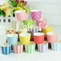 assorted wrapping paper - Mixed Styles Paper Baking Cups Cupcake Liners Bulk Wrappers Wrapping Paper Assorted Muffin Cups Size S