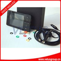 Wholesale Handheld Digital Storage Oscilloscope DS202 with mini Display full Color TFT LCD and Aluminum Black Case