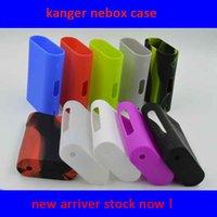 silica - kanger cases for Kanger Nebox Starter Kit cases Colorful Rubber Sleeve protective cover silica gel Skin for Kanger Nebox w mods