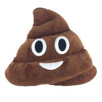 Wholesale New Cute Emoji Poo Shape Plush Toys Warm Hands Pillow Unique Gifts For Friends cm