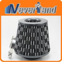 Wholesale Car Truck Universal mm High Flow Air Intake Cone Filter Carbon C10