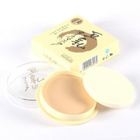 Wholesale Hot Fashion Natural Color Pressed Smooth Dry Concealer Oil Control Loose Face Powder Makeup Face Care