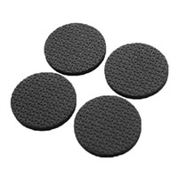 aluminum desk chair - 4Pcs practical Black Chair Desk Wardrobe Table Leg Foot Protector Sticky Mat Cushion