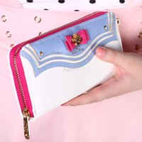 anniversary photo cards - 2016 New Samantha Vega Sailor Moon th Anniversary Limited Edition Ladies Long Zipper Female Bag Women Leather Wallet Purse