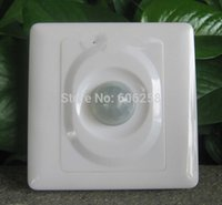 Wholesale 86 Infrared Sensor Switch for LED lights Energy Saving Lamp