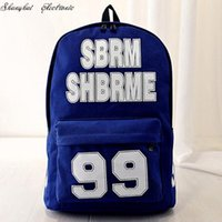 alphanumeric phone - 2015 Korean women backpack alphanumeric solid doubles backpacks Fashionable travel backpack