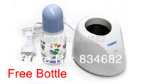 Wholesale FG1511 Original baby Warm milk bottle thermostat ym a gift a milk bottle box package High Quality